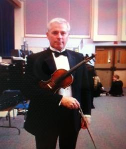 Dr. T violin